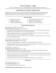 Sample Resume Certified Nursing Assistant Docshare Tips