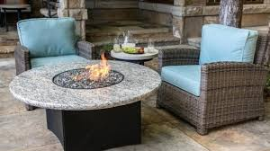gas fire table fire pits stamped concrete patio round propane gas within round gas fire pit table prepare