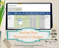 Savings Goal Calculator Excel Simple Target Savings Calculator