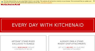 kitchenaid tv offer. kitchenaid 5 quart stand mixer tv offer source · access kitchenaidtvoffer com kitchenaid artisan