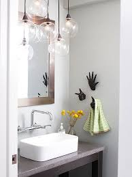 Contemporary Bathroom Lighting Fixtures Adorable Reflect Light Enlarging A Small Space Is Part Illusion Lights And