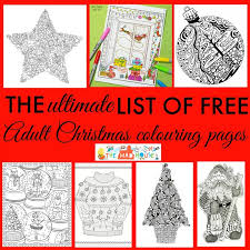 There are some amazing colouring pages and books for adults at the moment and as it is the festive season, i am all about christmas. Free Christmas Colouring Pages For Adults The Ultimate Roundup Mum In The Madhouse