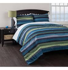 american original blue pacific stripe reversibl with striped beddi