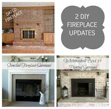 Diy Fireplace Makeover Ideas Brick Fireplace Makeover Diy