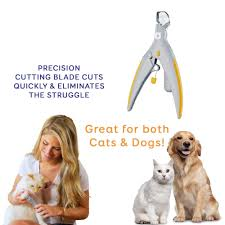 Light Up Pet Nail Clippers Us 7 59 Peticare The Illuminated Pet Nail Clipper Great For Cats Dogs Features Led Light 5x Magnification As Nail Trapper In Grooming Glove From