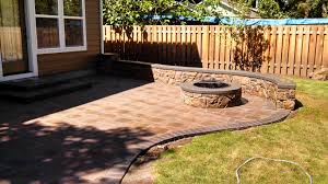 paver patio with fire pit. Paver Patio With Fire Pit Cost - Icamblog Hardscape Brick Patios P