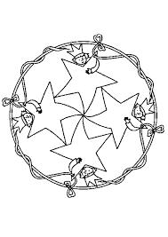 Mandala Kleurplaat Kind Ringe Mandala Ausmalbild Malvorlage Mandalas