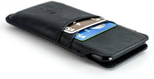 Amazon.com: Dockem Provincial Wallet Sleeve for iPhone 12 Pro Max, 11 Pro  Max, XS Max, 8 Plus, 7 Plus, 6/6S Plus - Vintage Synthetic Leather Pouch  Cover with 2 Credit Card Holder Slots, Black: Electronics
