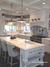 decorating kitchen backsplash awesome small decoration using solid maple wood vent hood including cream limestone tile
