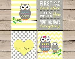 nursery canvas wall art diy. owl nursery art, pictures, decor, baby girl canvas wall art diy g