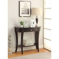 espresso entryway table. Console Table For Entryway Convenience Concepts Newport Entry Way Consoles Tables Multiple Finishes Espresso