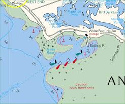 Correction To Cyc Maptech C Map Chart For Anegada Entrance