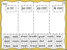 Word Patterns Cool Within Word Pattern Digital Spelling Sorts 4848 Common Long Vowel