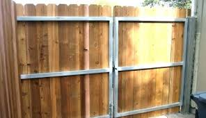 build a horizontal fence modern wood and gate courtyard edition cost to ideas