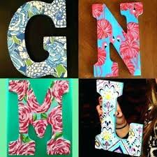 wooden letter ideas cute for making letters baby room with pink decorations nursery