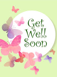 Get Well Card Sweet Butterflies And A Special Message To Get Well Soon