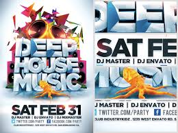 House Music Flyers Templates 31 Music Flyer Templates Free Psd Eps