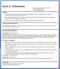What Does a Loan Processor Do Mortgage Loan Processor Resume Templates