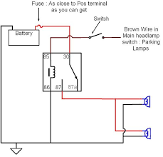 relay wiring diagram for driving lights wirdig fog light wiring diagram 4 pin image wiring diagram amp engine