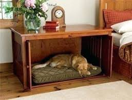 dog bed side table nightstand crate intended for out of