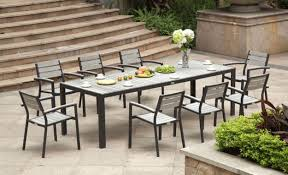 aluminum dining room chairs. Dining Room: Brilliant Habana 7 Piece Outdoor Set Contemporary At Aluminum Table From Likeable Room Chairs I
