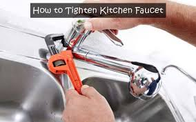 how to tighten kitchen faucet easily
