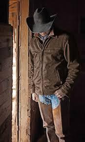 sts ranchwear mens man brown leather jacket big tall 2xl 3xl