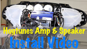 install hogtunes amp speakers on 2014 newer harley davidson install hogtunes amp speakers on 2014 newer harley davidson touring complete guide
