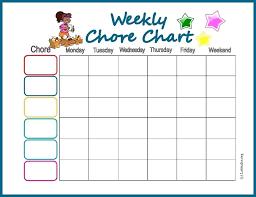 Weekly Chores List Template House Chore List Riverfarenh Com