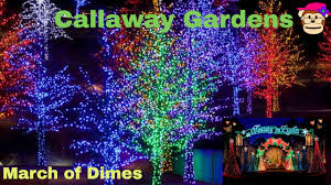 Callaway Lights Fantasy In Lights Callaway Gardens Christmas March Of Dimes Proceeds From This Video Will Be Donated