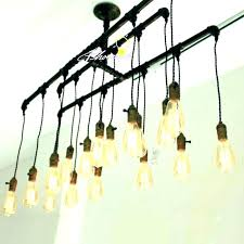 how to change a pot light to a chandelier install chandelier recessed light replace track lighting