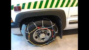 How To Fit Snow Chains In Under 60 Seconds Diy