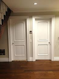 white interior 2 panel doors. Two Panel Interior Door X 2 Arched Top White Primed With Raised  Doors A