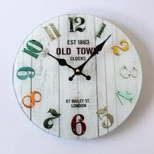 Retro Kitchen Wall Clocks Compare Prices On Retro Kitchen Wall Clock Online Shopping Buy