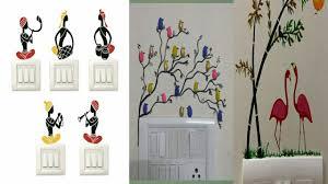 Switchboard Wall Painting Designs Switchboard Art Creative Switchboard Design Painting Ideas In Telugu