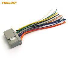 feeldo car audio stereo wiring harness for honda accord crosstour honda radio wiring harness diagram at Honda Radio Wiring Harness