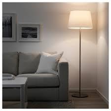 Skaftet Floor Lamp Base Nickel Plated