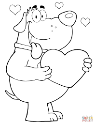 Teddy Bear Holding A Heart Coloring Pages At Getcoloringscom Free