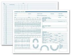 21023 Dental Exam Record Primary Arch Geometric Diagrams