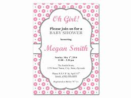 Free Microsoft Word Invitation Templates Extraordinary Free Baby Shower Invitation Templates Microsoft Word Inspirational