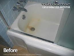 before after gallery tub reglazing bathtub refinishing tub resurfacing tub repair los angeles orange county ventura santa barbara 213 bathtub