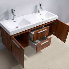 54 inch vanity double sink. virtu usa midori 54 inch double sink plum bathroom vanity e