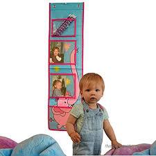 Te New Fashion Children Kids Height Growth Chart Plastic