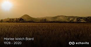 Marlee Welch Baird Obituary (1928 - 2020) | Olanta, South Carolina
