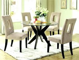 Glass Kitchen Table And Chairs Dining Tables Captivating Glass