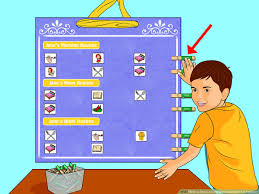 Blues Clues Potty Chart 3 Ways To Make A Daily Schedule Chart For Toddlers Wikihow