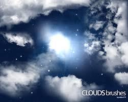 Clouds Brushes Light Photoshop Brushes Brushlovers Com