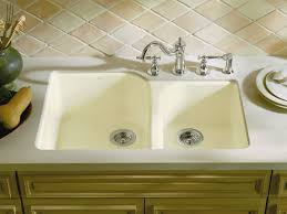 Standard Plumbing Supply  Product Kohler K3174NA Undertone 32 Deep Bowl Kitchen Sink