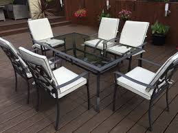 ... Patio, Metal Garden Chairs Metal Garden Furniture French Transparent  Board Of Table With Metal Frame