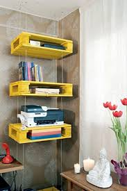 Shelves Made From Pallets Shelves Made With Recycled Wood Pallets Pallet Wood Projects